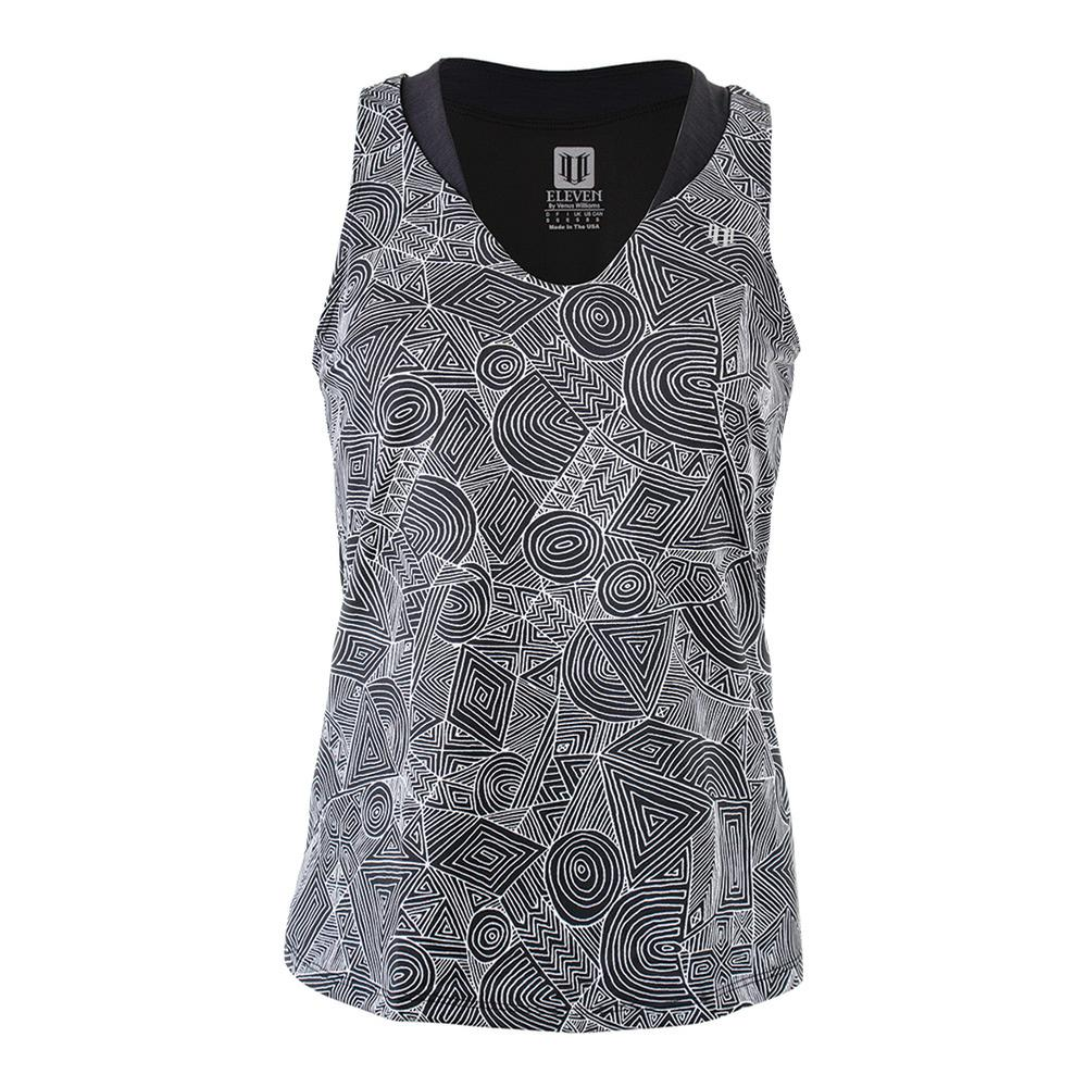 Women's Love Tennis Tank Intrepid Print