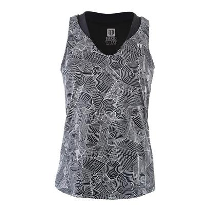 Women`s Love Tennis Tank Intrepid Print