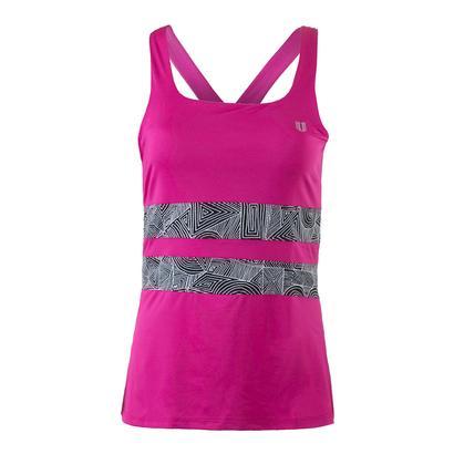 Women`s Excel Tennis Tank Boysenberry