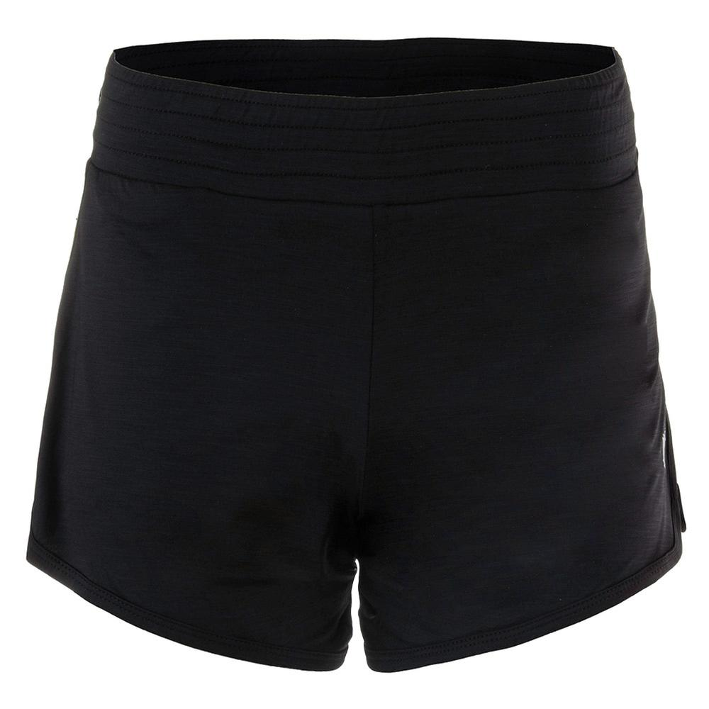Women's Tennis Third And Short Black
