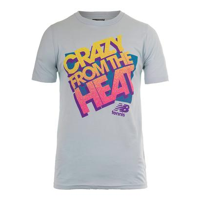 Men`s NB Crazy Heat Tennis Tee Light Blue