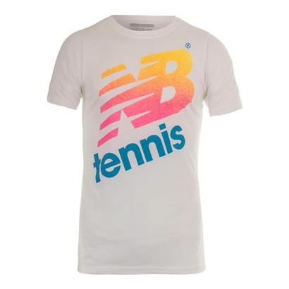 Men`s NB Tennis Tee White