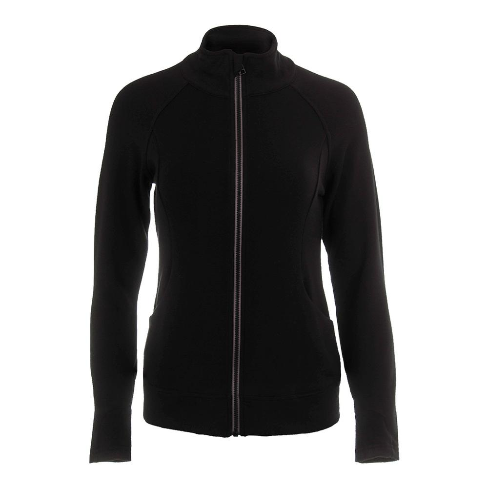 Women's Escentia Tennis Jacket Black