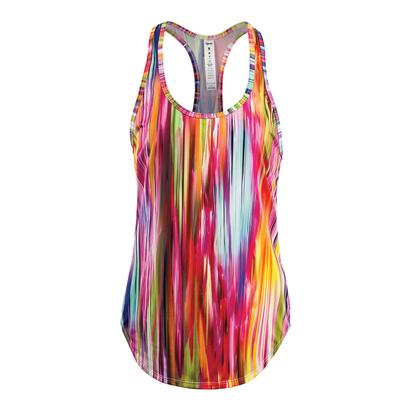 Women`s Surge Tennis Tank Colourfall