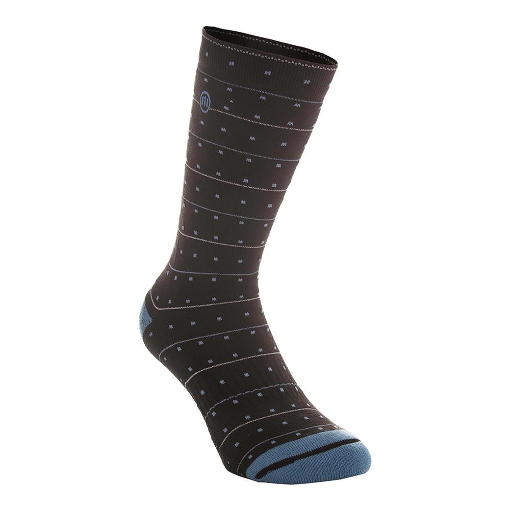 Men's Castrilli Tennis Socks Black