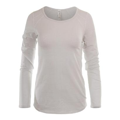 Women`s Volley Long Sleeve Tennis Top White