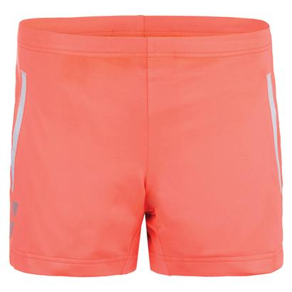 Girls` Core Tennis Short Fluro Red