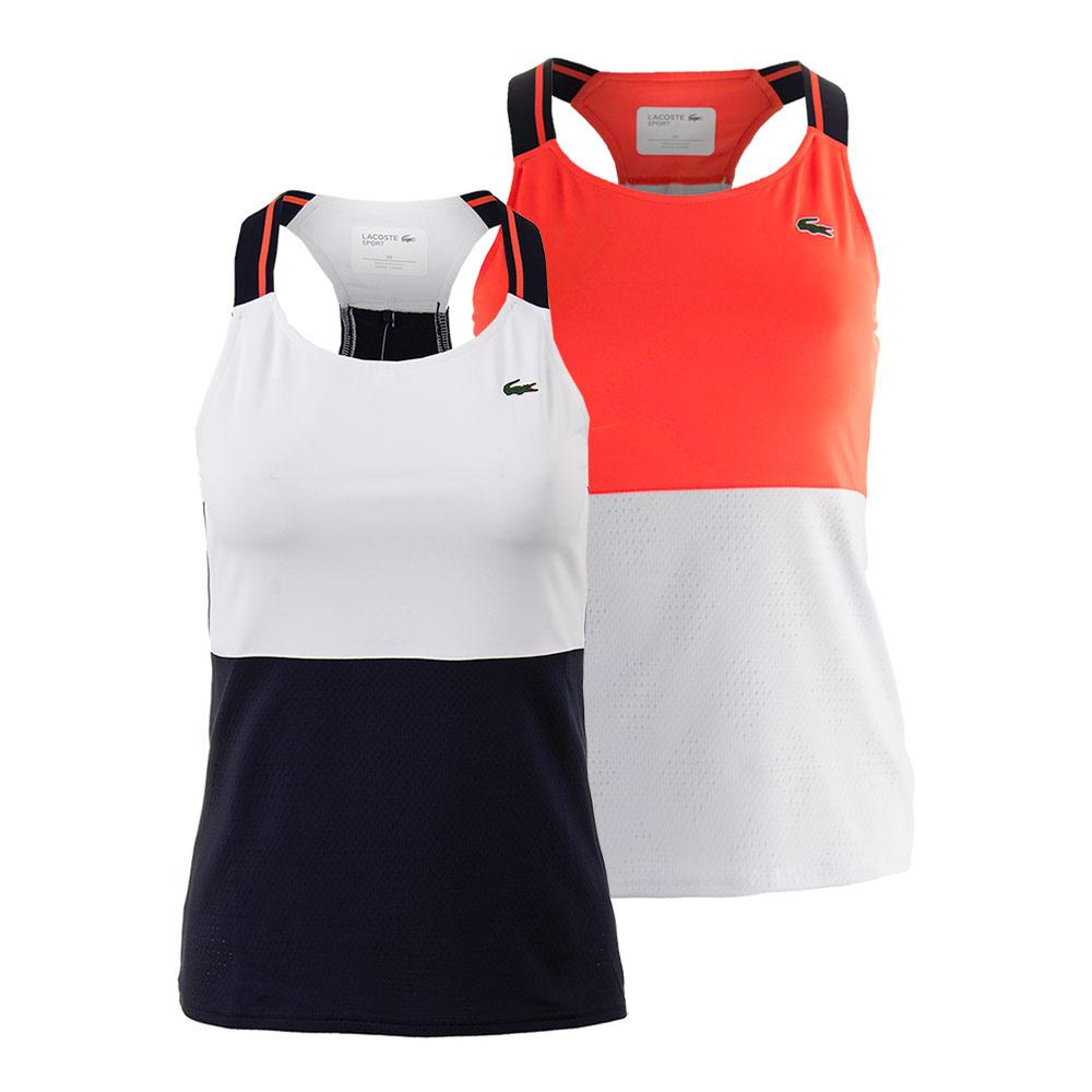 Women's Sleeveless Technical Tennis Tank