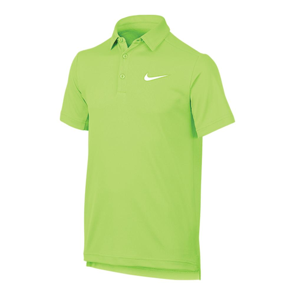 Boys ` Dry Tennis Polo