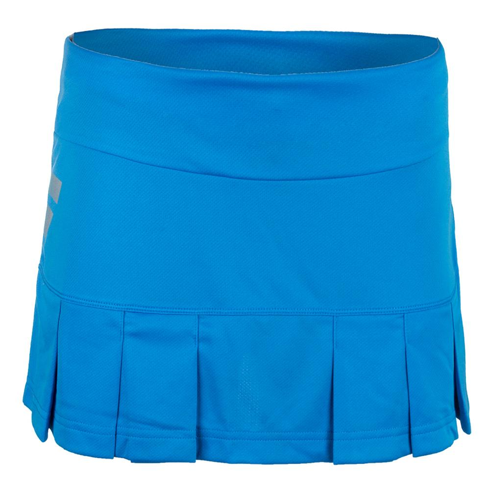 Women's Core Long Tennis Skirt Drive Blue