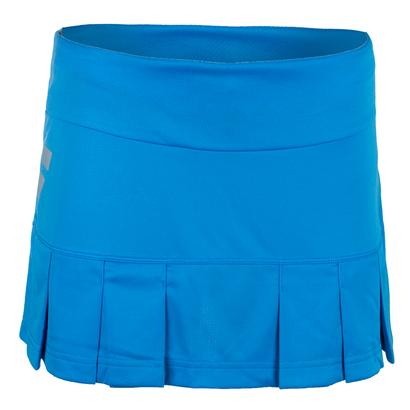 Women`s Core Long Tennis Skirt Drive Blue