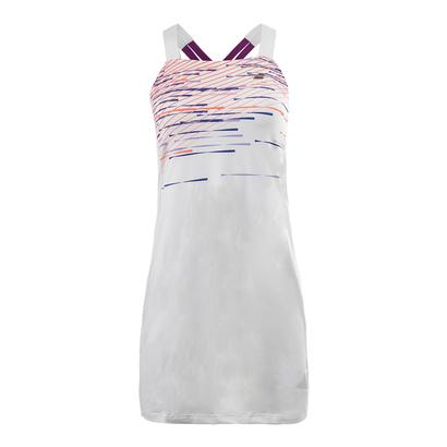 Women`s Performance Strap Tennis Dress White