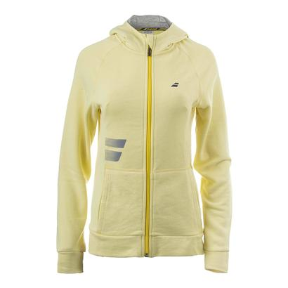 Women`s Core Hood Tennis Sweat Lime Washed