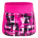 Women`s Camera Ready Skort 543_PK_GLO/BLR_PLAID