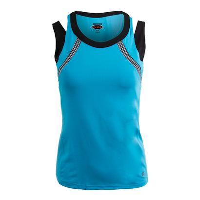 Women`s Bella Tennis Tank Vivid Blue
