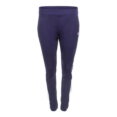 Women`s Heritage Tennis Pant Navy and White