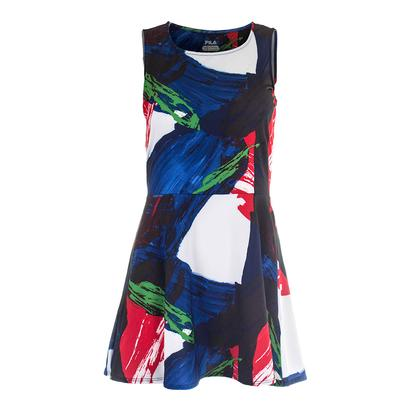 Women`s Heritage Printed Tennis Dress Riviera