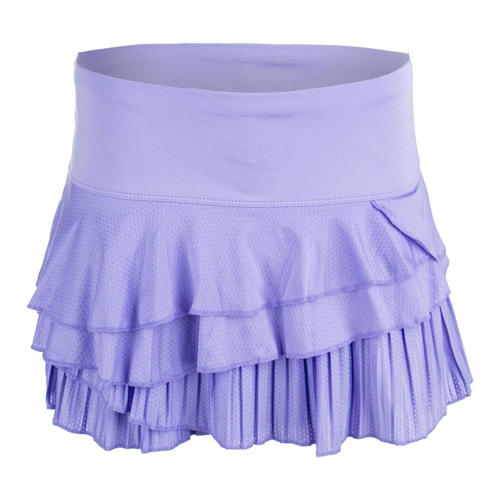 Women's Rally Pleat Tier Tennis Skort Lilac