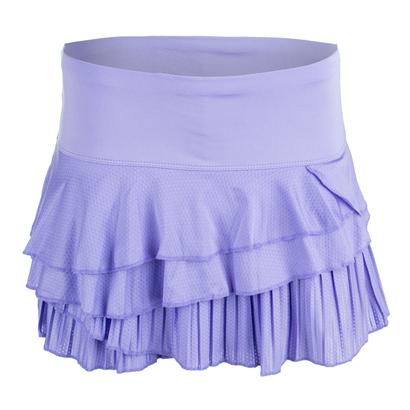 Women`s Rally Pleat Tier Tennis Skort Lilac