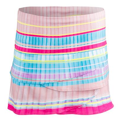 Women`s Pleats Scallop Tennis Skort Print