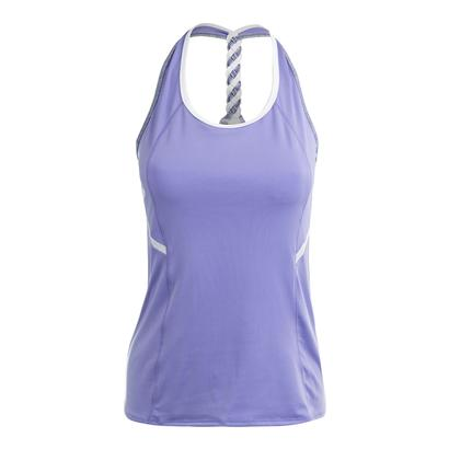 Women`s Braided Racerback Tennis Top Lilac