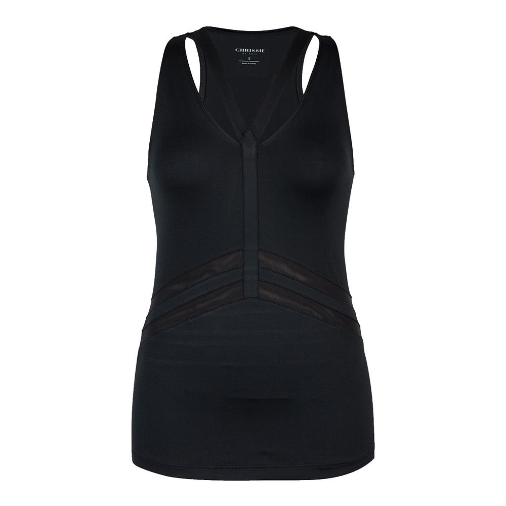 Women's Christine Tennis Tank Black
