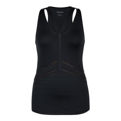 Women`s Christine Tennis Tank Black