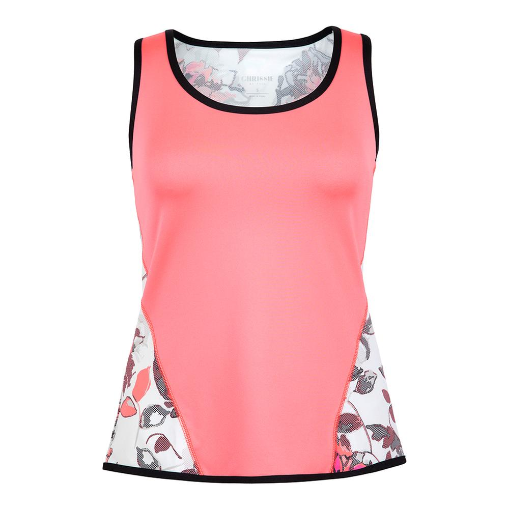 Women's Allison Tennis Tank Dahlia