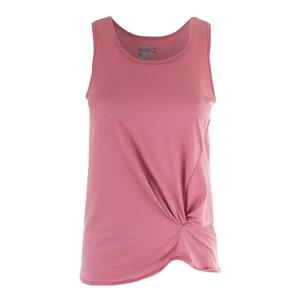 Women`s Do the Twist Pindot Tennis Tank