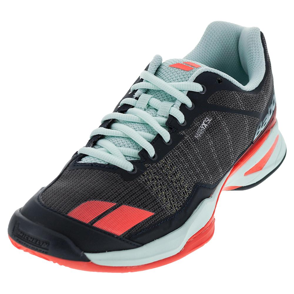 Women's Jet Team Clay Tennis Shoes Gray And Blue