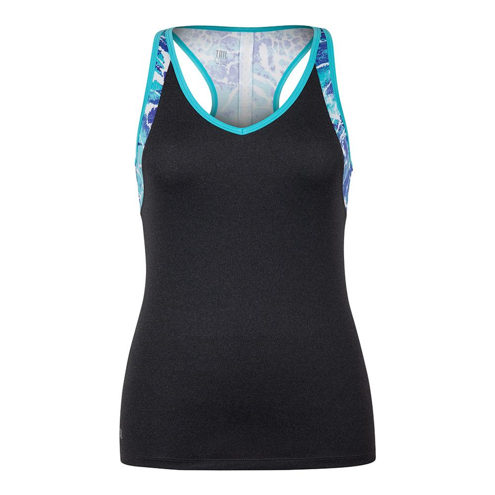 Women's Ivanka Tennis Tank Black Heather