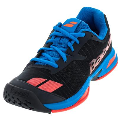 Juniors` Jet All Court Tennis Shoes Gray and Red
