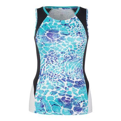 Women`s Theresa Tennis Tank Low Tide Curacao