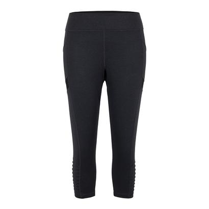 Women`s Sue Tennis Legging Black Heather