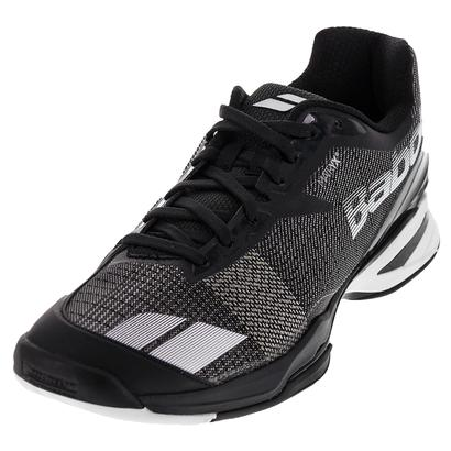 Men`s Jet All Court Tennis Shoes Black and White