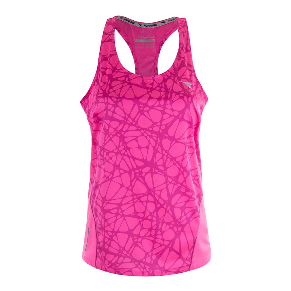 Women's Bright Tank Pink Fluo