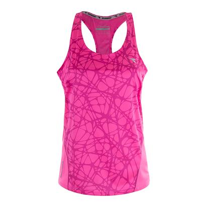 Women`s Bright Tank Pink Fluo