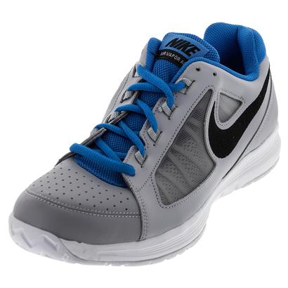 Men`s Air Vapor Ace Tennis Shoes Wolf Gray and Black