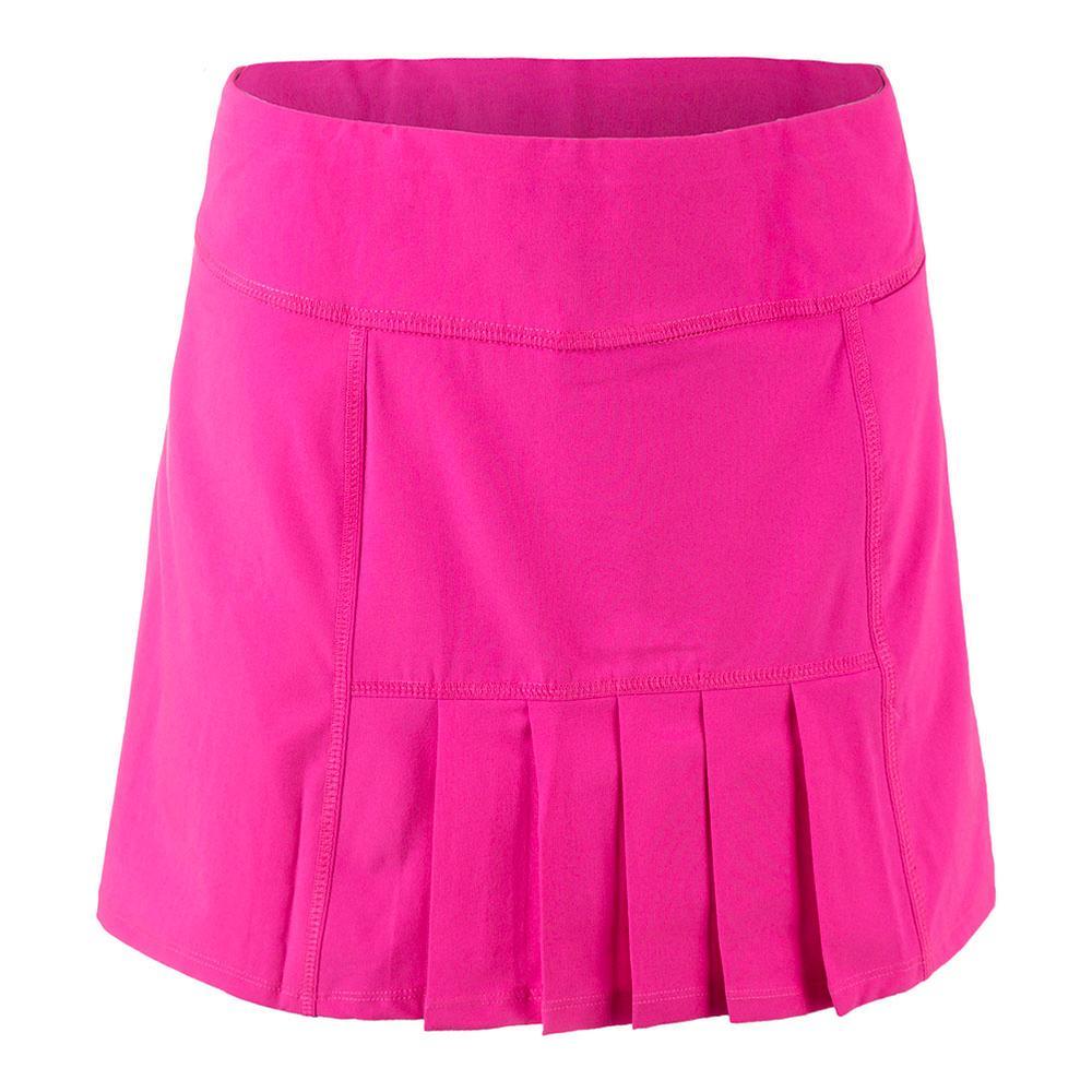Women's Dash Tennis Skort Fluorescent Pink