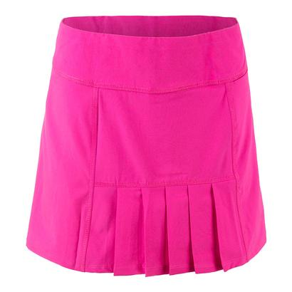 Women`s Dash Tennis Skort Fluorescent Pink