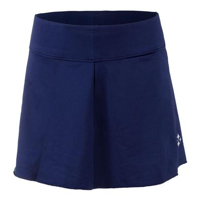 Women`s Jacquard Swing Tennis Skort Blue Depth