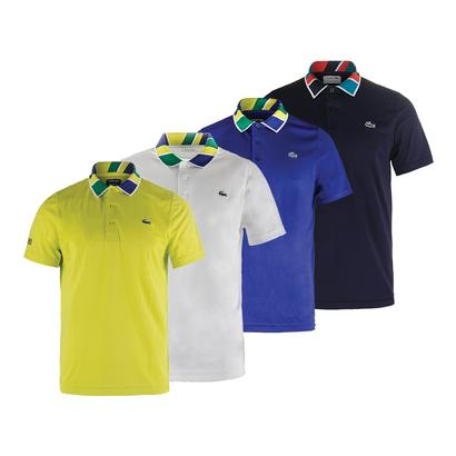 Men`s T2 Jacquard Collar Ultradry Tennis Top