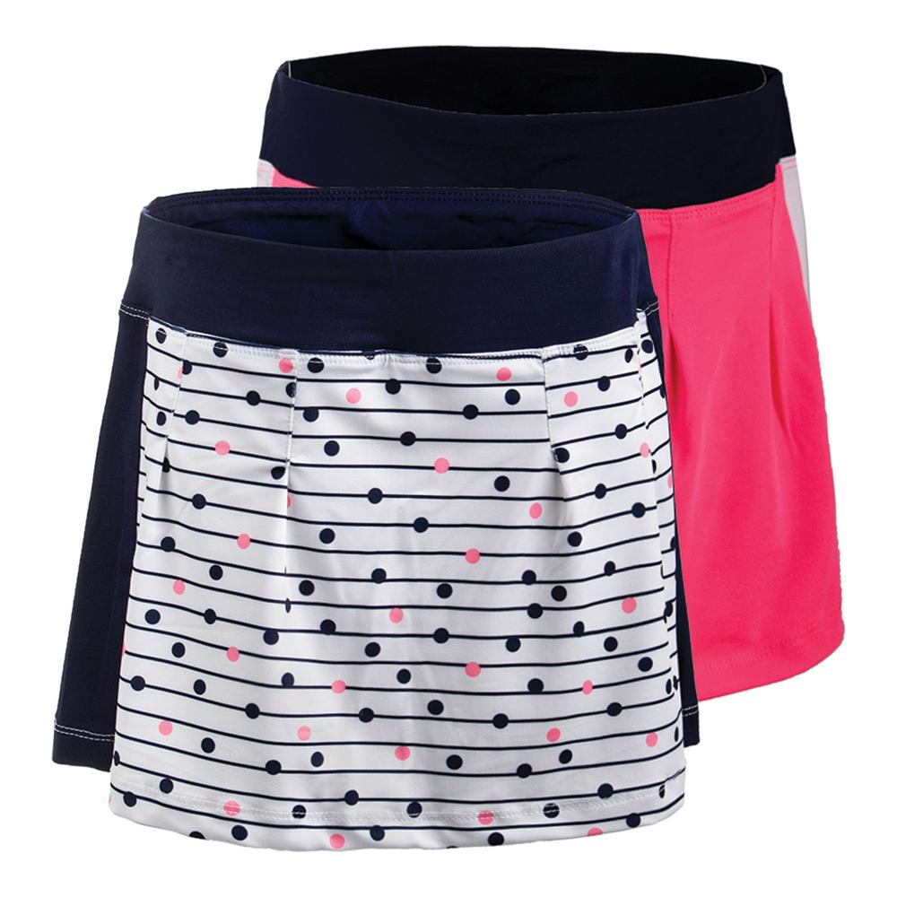 Girls ` Down The Line Tennis Skort