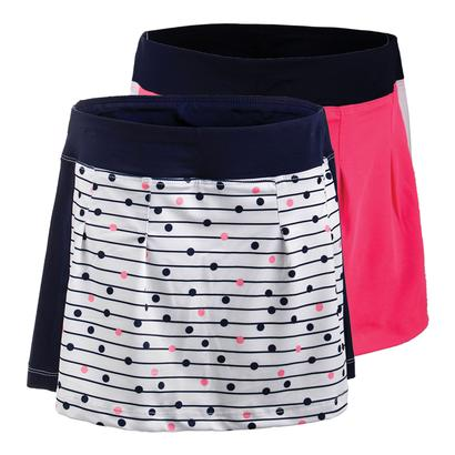 Girls` Down the Line Tennis Skort