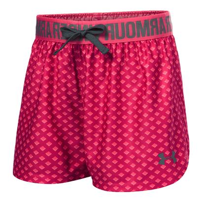 Girls` Printed Play Up Short Honeysuckle and Gala