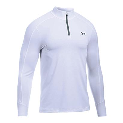 Men`s Threadborne Center Court 1/4 Zip Tennis  Top