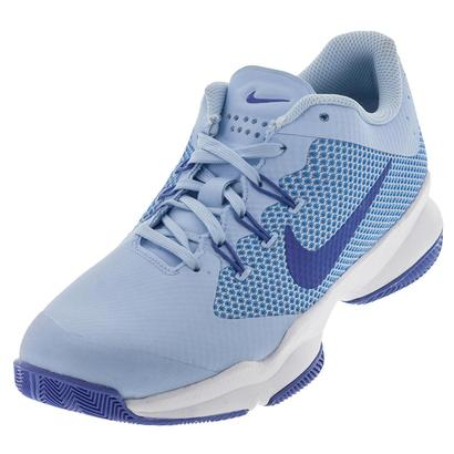Women`s Air Zoom Ultra Tennis Shoes Ice Blue and Comet Blue