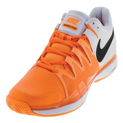 Men`s Zoom Vapor 9.5 Tour Clay Tennis Shoes Tart and Black