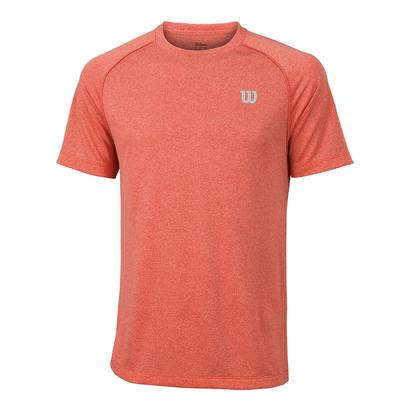 Men`s Core Tennis Crew Hot Coral