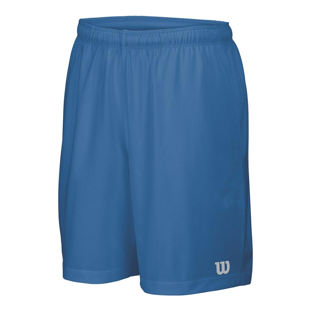 Boys ` Core 7 Inch Woven Tennis Short Deep Water